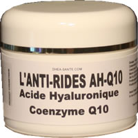 Anti-rides hyaluronique coenzymeQ