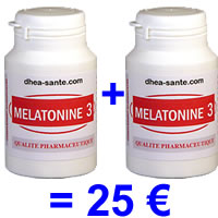 Pack Mélatonine 3 mg