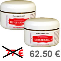 Pack Gel TESTOSTERONE 2%