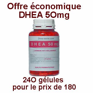 Offe DHEA 50 mg 240  gélules pour le prix de 180